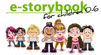 http://www.ourboox.com/books/multilingual-families-estory-book-for-children-0-5/